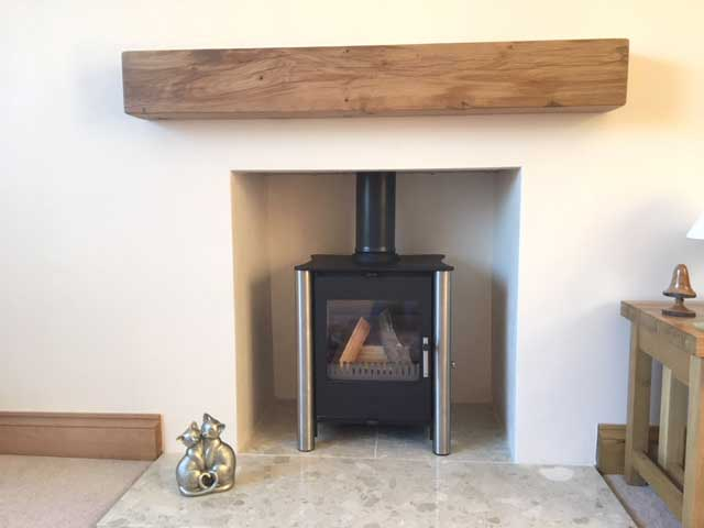 Oak Mantlepiece Robin Taylor Timber Merchants